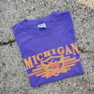 Vintage 90s Michigan Original Buck Hunt Shirt